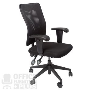 AM100-Silver AM100 Mesh Back Operator Office Chair