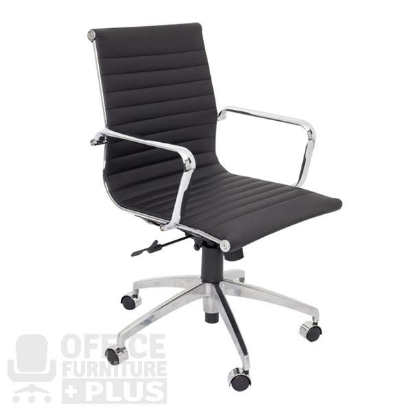 PU605M Medium Back Executive Office Chair