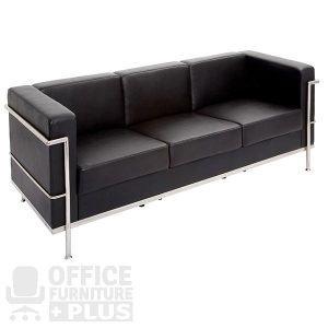 Space Lounge Three Seater Reception Seating