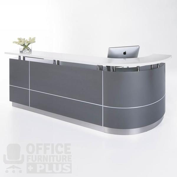Executive J Shape Reception Counter