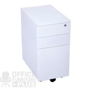 Slimline Mobile Pedestal Drawers